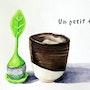Un petit thé. Emilie Denis