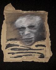 Retrato de Picasso. Valentino D'errico