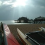 The Old Brighton Pier before its final demise. Tony Walling