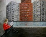 Aislamiento, óleo sobre lienzo. Demonio - Yolanda Molina Brañas
