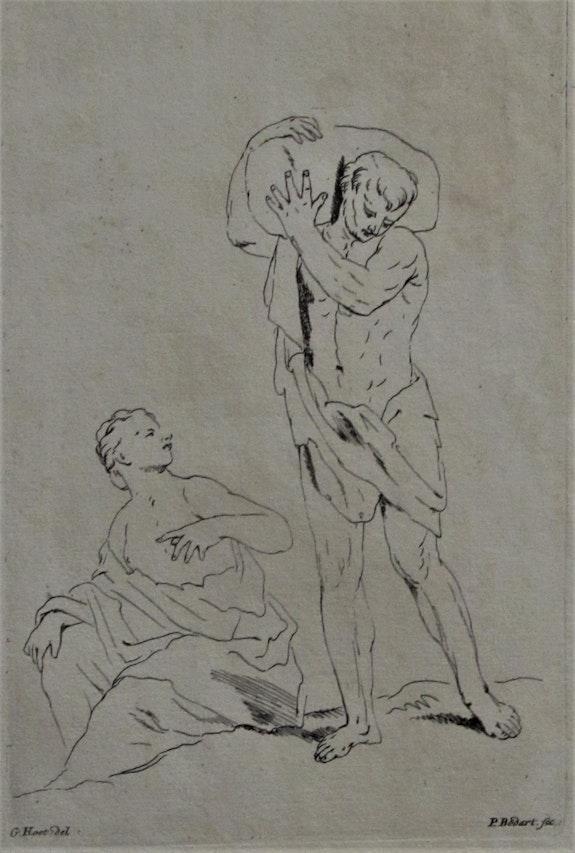 Pieter. Bodart (début du XVIIIe) d'après Guérard. Hoet :pour apprendre à dessiner. Pieter. Bodart (Début Du Xviiie) d'après Guérard. Hoet Historien d'art, Archéologue; Chercheur Free-L.