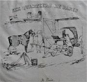 Eugène. Lami (1800-1890) : frontispice pour «Six quartiers de Paris», 1827.. Historien d'art, Archéologue; Chercheur Free-L.