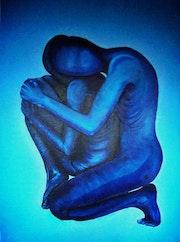 Tenderness, huile sur toile 70/100 cm. Verogerzart