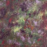 Nature embrouillée - Triptyque Gauche. Linda K. Ian