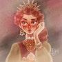 La reine. Lea Pyrika