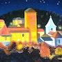 Illuminations à Teyssieu (lot). Claudine Marquet