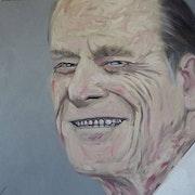 Philip Mountbatten portrait. D3Ko