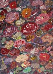 Bouquet de roses.