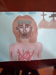 Jesucristo en las cruces. Jenny Carolina Herrera Jimenez