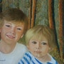 Portraits d'enfants, les petits Américains..