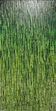 Cuadro abstracto: Matriz vegetal..