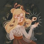 Little skull. Lea Pyrika