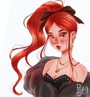Red Night. Lea Pyrika