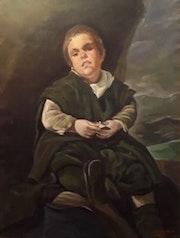 Nº 35 - retrato de francisco lezcano (el tonto de vallecas). Jose Ramon Mediavilla