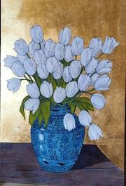 Bouquet de tulipes. Sandrine Millet
