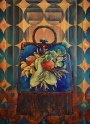 Glamour cc 110*80 cm, original oil painting.