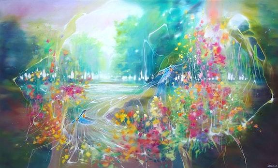 The Enchanted.  Gill Bustamante - Artist