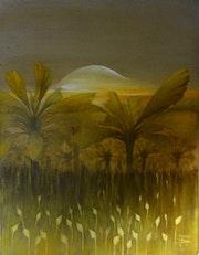 Peinture huile sur toile. Michel Brockart
