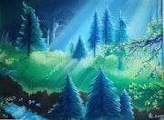 » La foret bleue ». Linda Guillou «Ti. Songe»