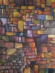 Mur de pierres ou de livres. Walter Metzker-Hoyon