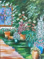Fenêtre sur cour. Véronique Delort