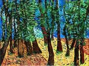 «En forêt», 2021.