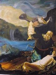 Le sacrifice d'isaac. Jean Paul Gahinet
