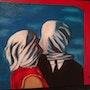 Version los amantes de magritte.