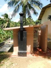 Rtu project school installation of incinerators. Mufliha Mahroof