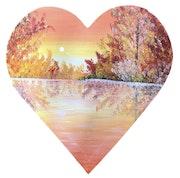 Série « les Valentines » Peinture abstraite acrylique décorative Valentine 5.