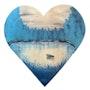 Série « les Valentines » Peinture abstraite acrylique décorative Valentine 7. Florence Féraud-Aiglin