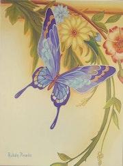 Blue Butterfly. Ruben Pineda