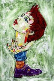 6- La actriz.. Carmen Luna