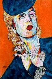 91- Tamara de Lempicka.. Carmen Luna