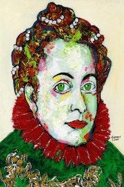 92- Pintora Medieval ll.. Carmen Luna