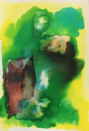 Abstraction verde. Any
