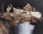 La vache et le prisonnier. Michel Baudet