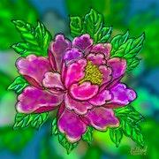 Цветы 076. Fluidartfill