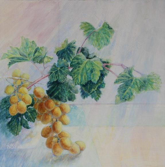 Lumière d'automne- raisins dorés. Nathalie Savon Nathalie Savon