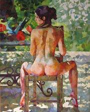 Desnudo de la silla. Leopoldo G. Andrades