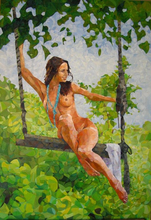 Desnudo del columpio. Leopoldo G. Andrades Leopoldo G. Andrades