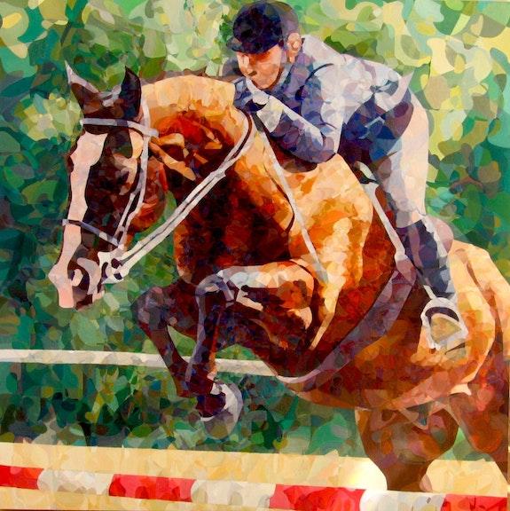 Salto de caballo. Leopoldo G. Andrades Leopoldo G. Andrades