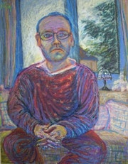 Self-portrait («morning awakening»). Lethan
