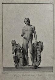 Gio Brunetti en 1792, d'après Bernardino Nocchi (1741-1812) : Amour et Psyché.. Historien d'art, Archéologue; Chercheur Free-L.