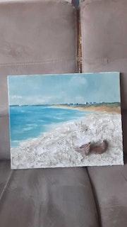 «La plage».