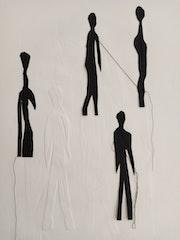 Les notes noires et blanche. Isabelle Piron