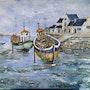 Port de pêche Breton. Cath