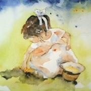 Grains de sable… À Ostende…. Thérèse Hanot