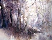 La promenade de l'aube. Anne Huet Baron