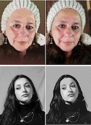 Retratos personales con Corel Draw.
